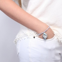 Bracelet fantaisie femme NATURE BIJOUX BLUEBIRD 13-29713 - lombartbijoux.com