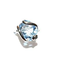Bague femme cristal Swarovski - Andrea MARAZZINI - RSW BLEU CIEL RH