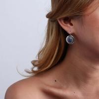 Boucles d'oreilles fantaisie femme portées Nature Bijoux 12-76410 - lombartbijoux.com