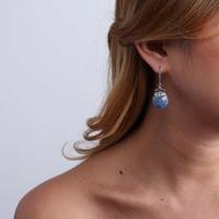 Boucles d'oreilles fantaisie femme portées Nature Bijoux 12-76407 - lombartbijoux.com