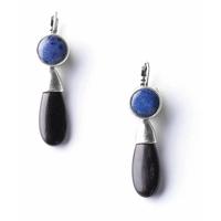 Boucles d'oreilles fantaisie femme BB BLUES de NATURE BIJOUX 12-76296