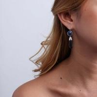 Boucles d'oreilles portées Nature Bijoux 12-76296 - lombartbijoux.com