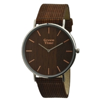 Montre 100% vegan pour homme GreenTime by ZZERO ZW060C