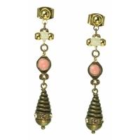 Boucles d'oreilles fantaisie femme Elena de Franck Herval 12-63692