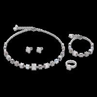 bracelet fantaisie swarovski femme coeur de lion 4893/30-1400 parure-lombartbijoux.com