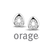 Boucles d'oreilles argent Orage AK079