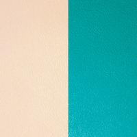 Les Georgettes vinyle Nude/Aquatique pour boucles d'oreilles 16mm