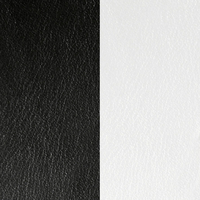 Les Georgettes vinyle Noir/Blanc pour boucles d'oreilles 16mm