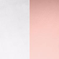 Les Georgettes vinyle gris clair/rose clair pour boucles d'oreilles 16mm