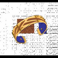 Bracelet manchette Ruban Les Georgettes by Altesse 702856901 14 mm