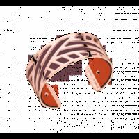 bracelet manchette ruban les georgettes 702856840-25mm complet-lombartbijoux.com