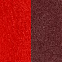 Vinyle Rouge Orangé/Brun Rosé pour bague Les Georgettes