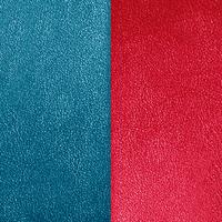 Vinyle Bleu Pétrole/Framboise pour bague Les Georgettes