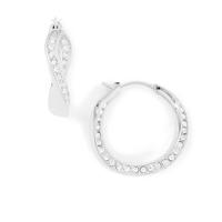 Boucles d'oreilles créoles JF01144040 FOSSIL