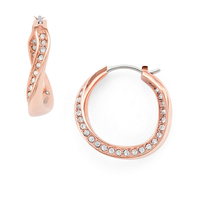 Boucles d'oreilles créoles JF01299791 FOSSIL