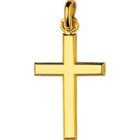Pendentif croix en plaqué or 136103