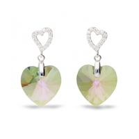 Boucles d'oreilles argent et cristal de Swarovski Spark A432PS