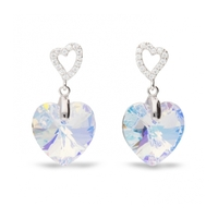 Boucles d'oreilles argent et cristal de Swarovski Spark A432AB