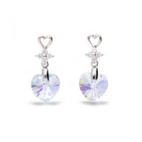 Boucles d'oreilles argent et cristal de Swarovski Spark A431AB