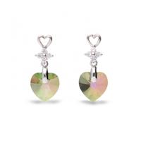 Boucles d'oreilles argent et cristal de Swarovski Spark A431PS