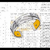 Bracelet manchette Ruban Les Georgettes by Altesse 702856916 14 mm
