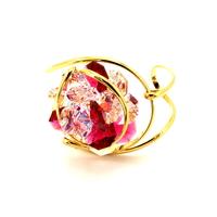 Bracelet cristal Swarovski - Andrea MARAZZINI - Big flower Mix Red