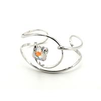 Bracelet cristal Swarovski - Andrea MARAZZINI - BRA1 BLANC AB RH