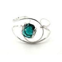Bracelet cristal Swarovski - Andrea MARAZZINI - BRA1 VERT EMERAUDE RH