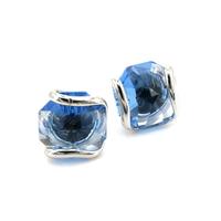 Boucles d'oreilles cristal Swarovski - Andrea MARAZZINI - PUCES BLEU CIEL RH
