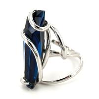 Bague femme cristal Swarovski - Andrea MARAZZINI - RDW STALACTITE BERMUDA BLUE
