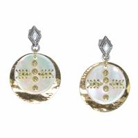 Bijoux Franck Herval boucles d'oreilles Adèle 12-64341