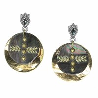 Bijoux Franck Herval boucles d'oreilles Sarah 12-64311