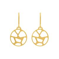Bijoux Les Georgettes : Boucles d'oreilles Girafe finition or 703189219