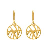 Bijoux Les Georgettes : Boucles d'oreilles Perroquet finition or 703189419