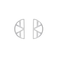 Bijoux Les Georgettes : Boucles d'oreilles Ibiza finition argent 703189116