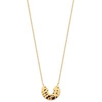 Bijoux tendances : Collier en plaqué or 92148145