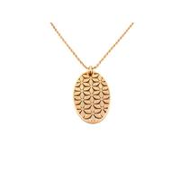 Bijoux Acier : Collier en acier rosegold 31070245