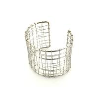Bijoux Acier : Bracelet manchette en acier AC1180BR