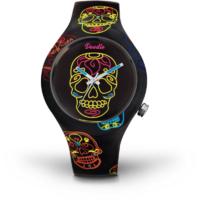 Montre Doodle Watch Black Skull Calaveras