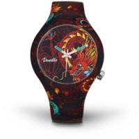 Montre Doodle Watch Dragon Noir