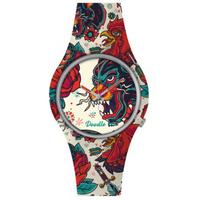 Montre Doodle Watch Dragon Rouge