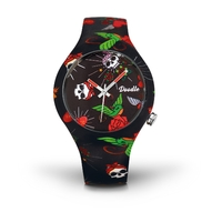 Montre Doodle Watch Bird and Skull
