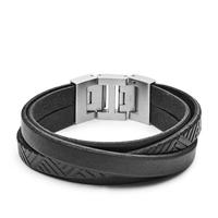 Bracelet en cuir casual vintage par FOSSIL JF02998040
