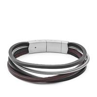 Bracelet en cuir casual vintage par FOSSIL JF03002040