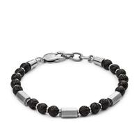Bracelet en pierre de lave casual vintage par FOSSIL JF03007040