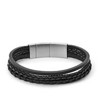Bracelet en cuir casual vintage par FOSSIL JF02935001