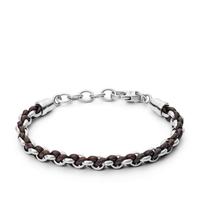 Bracelet en cuir casual vintage par FOSSIL JF02936040