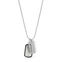 Collier avec plaque militaire FOSSIL JF02997040