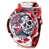 Montre Doodle Watch Red Skull Calaveras DOCA003
