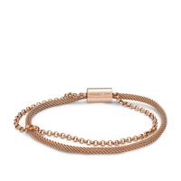 Bracelet double chaîne FOSSIL JF02983791